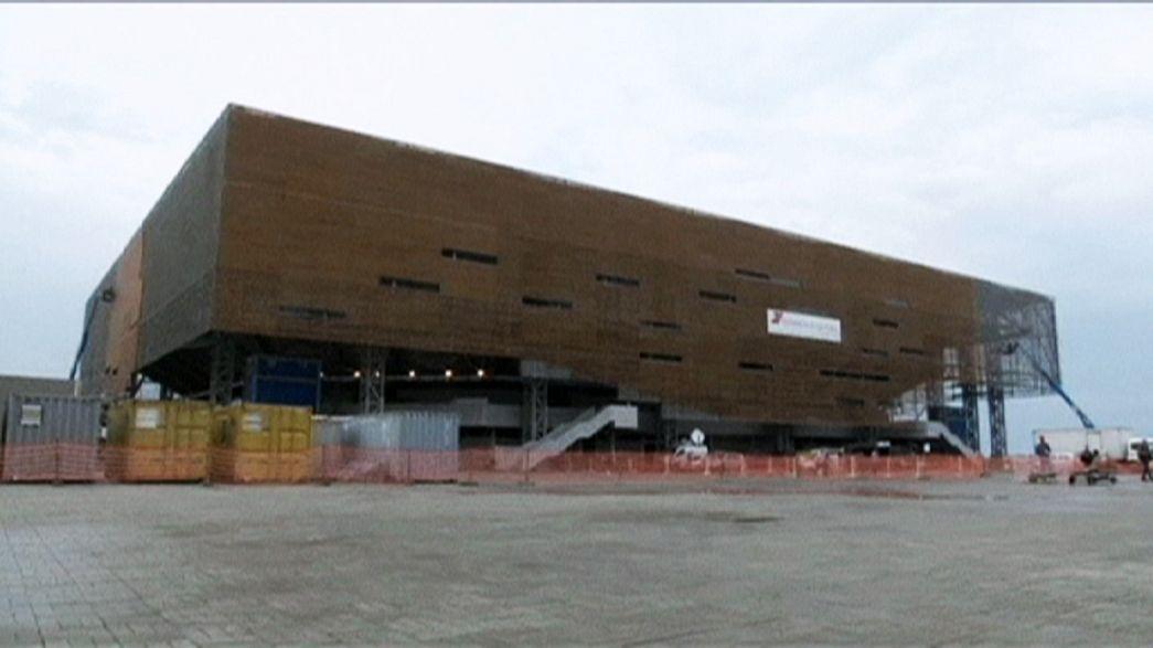 Future Arena olimpiyatlara hazır