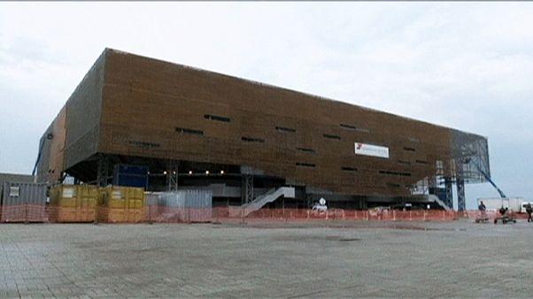 El flamante pabellón Arena del Futuro ve la luz en Río de Janeiro