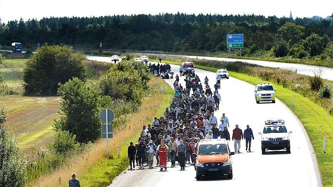 Mültecilerden dolayı durdurulan Almanya - Danimarka tren seferleri yeniden başladı
