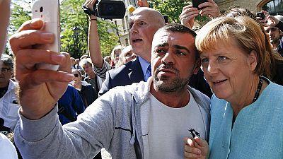 Allemagne : Angela Merkel salue les efforts pour l'accueil des réfugiés