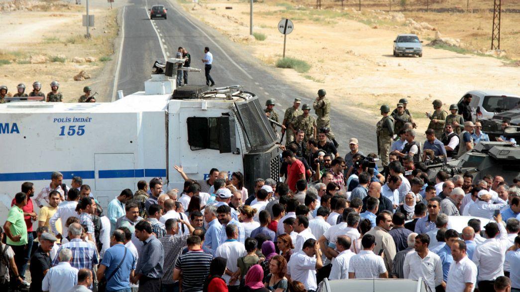 HDP'den Cizre yürüyüşü