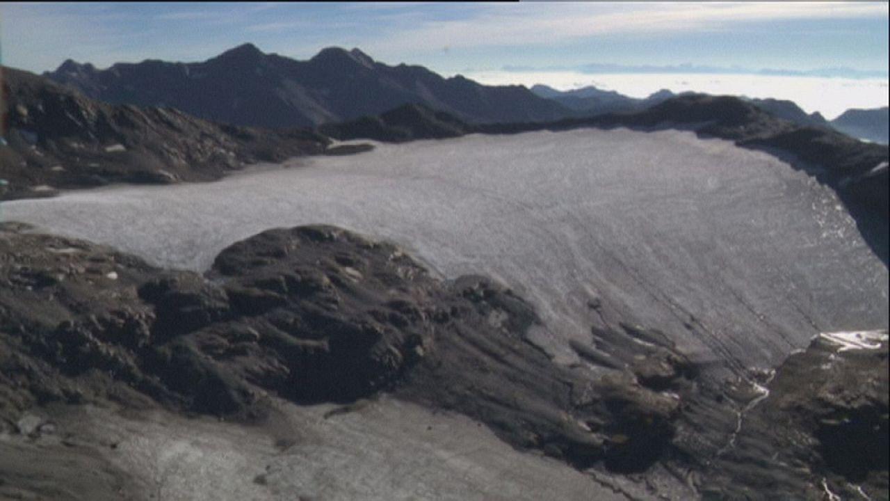 Les glaciers italiens réduits à peau de chagrin
