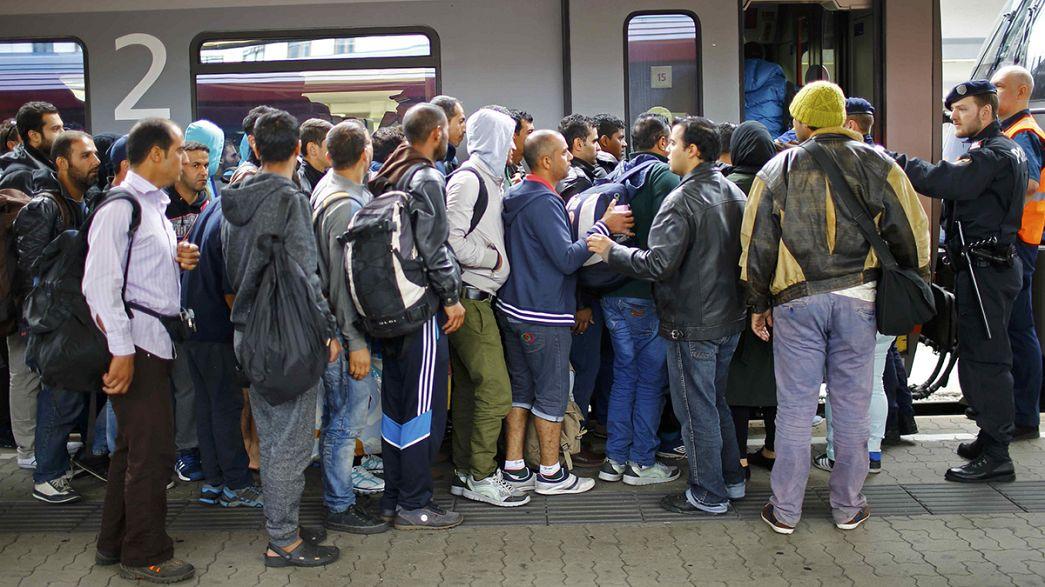 Afflux de réfugiés : l'Autriche suspend ses liaisons ferroviaires avec la Hongrie