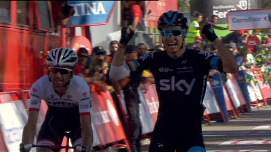Vuelta: Dumoulin resiste aos ataques de Aru