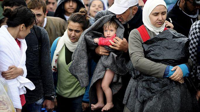 Des réfugiés brutalisés à la frontière gréco-macédonienne