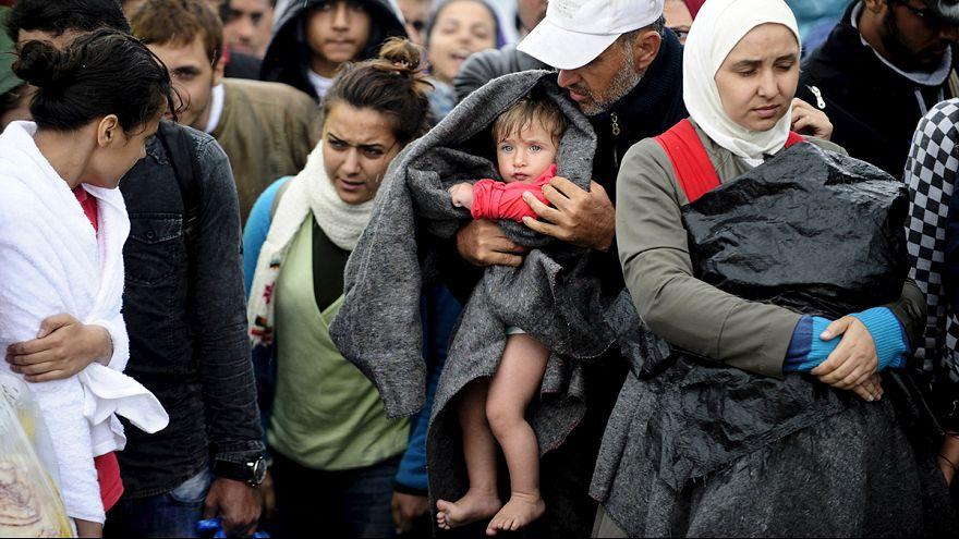 Bántalmazták a menekülteket a macedón rendőrök a görög határnál