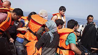 Midili adasına göçmen akını