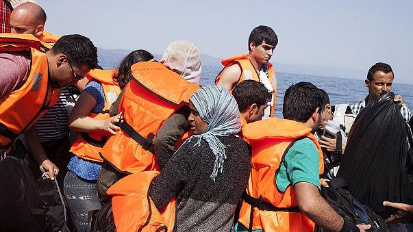 استمرار تدفق المهاجرين على جزيرة ليسبوس اليونانية