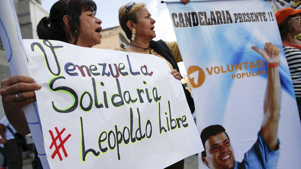الحكم على المعارض الفنزويلي ليوبولدو لوبيز بالسجن لثلاثة عشر عاماً