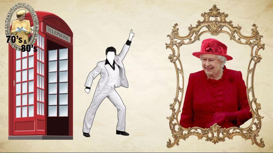 En 70 segundos, la reina Isabell II desafía a un mundo cambiante