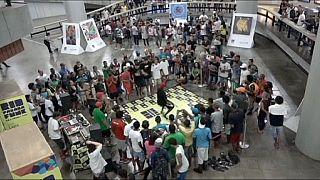 Metro dancing as Rio de Janeiro toasts its musical heritage