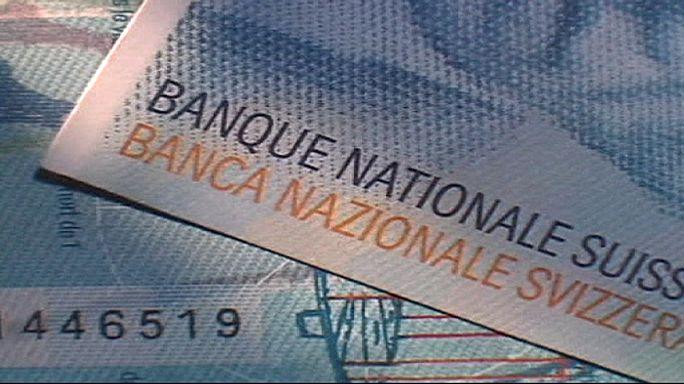 Курс швейцарского франка к евро откатился до уровня января