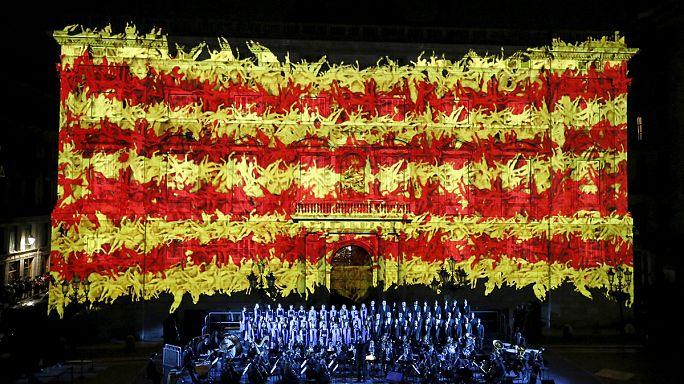 النزعة الانفصالية تطبع احتفالات العيد الوطني الكاتالوني