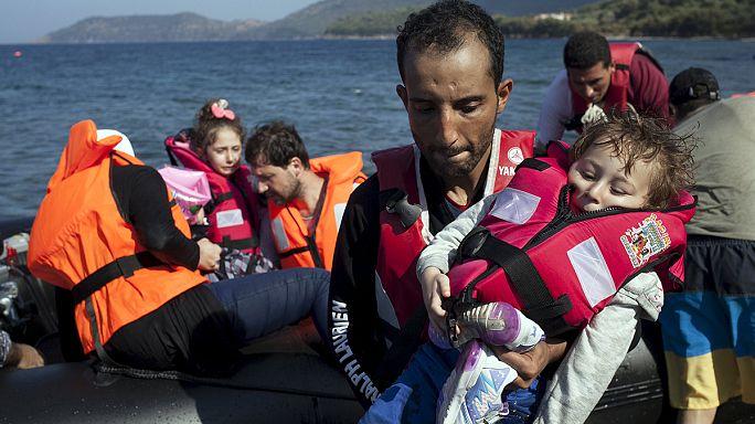 Refugiados sírios, a primeira etapa da fuga: A fronteira com a Turquia