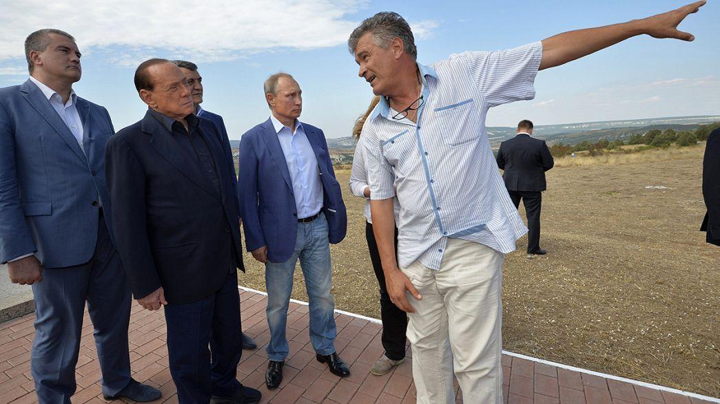 Visita privada a Crimea de Silvio Berlusconi