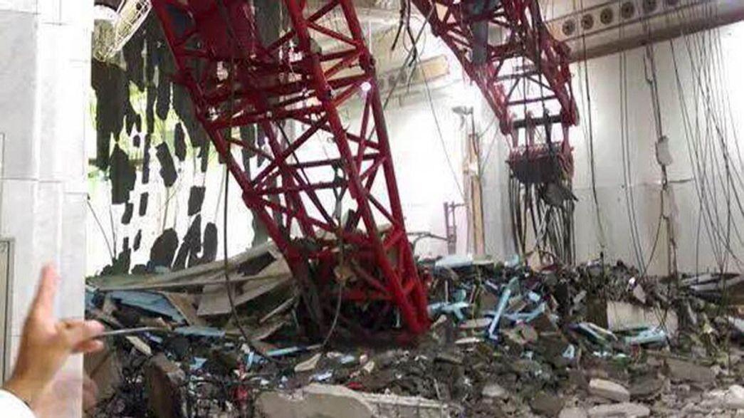 Arábia Saudita: Dezenas de mortos em Meca
