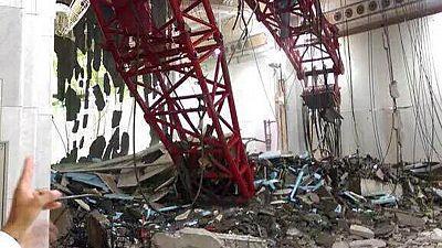 Decenas de muertos al caer una grúa en La Meca