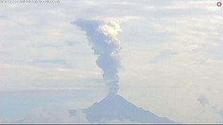 Messico: erutta il vulcano Colima, molto attivo da luglio