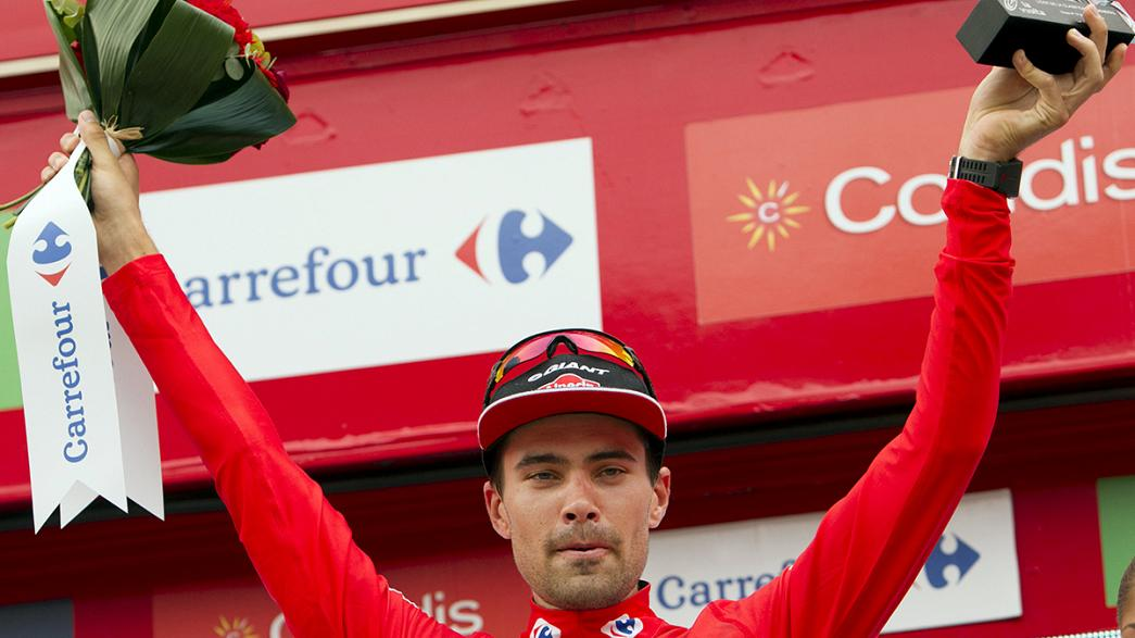 Dumoulin extends Vuelta lead after stage 19
