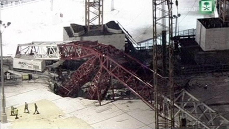 Kabe'de vinç devrildi: 87 kişi hayatını kaybetti