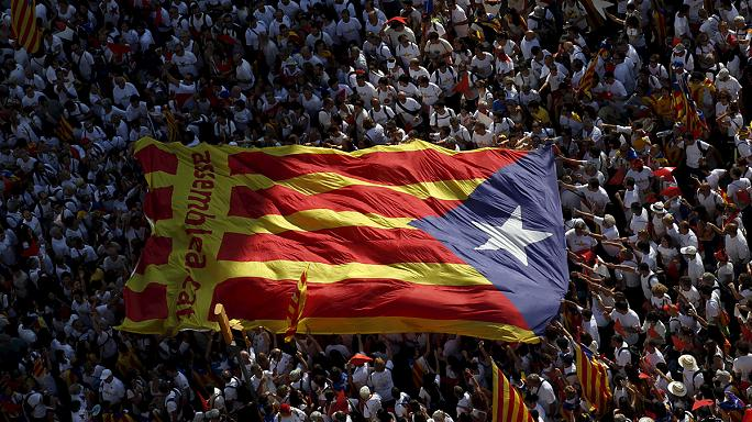 Barcelona buzzing as region celebrates Catalonia's national day