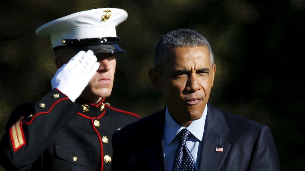 """Siria: Obama a Putin """"il sostegno ad Assad è destinato a fallire"""""""