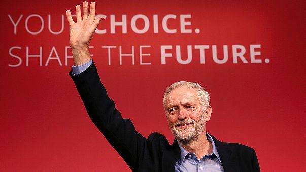 İngiliz İşçi Partisi'nin yeni genel başkanı Jeremy Corbyn