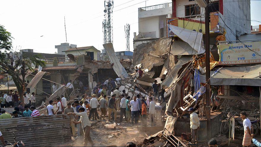 Catastrophe en Inde: 85 morts après l'explosion d'une bonbonne de gaz