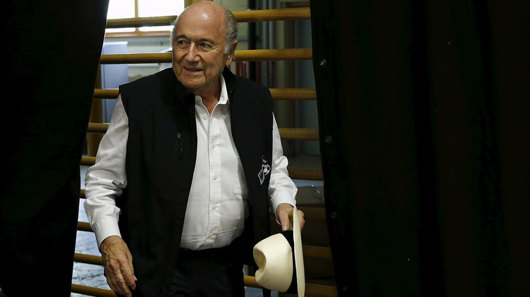 Blatter accused of selling World Cup TV rights at cut price to Warner