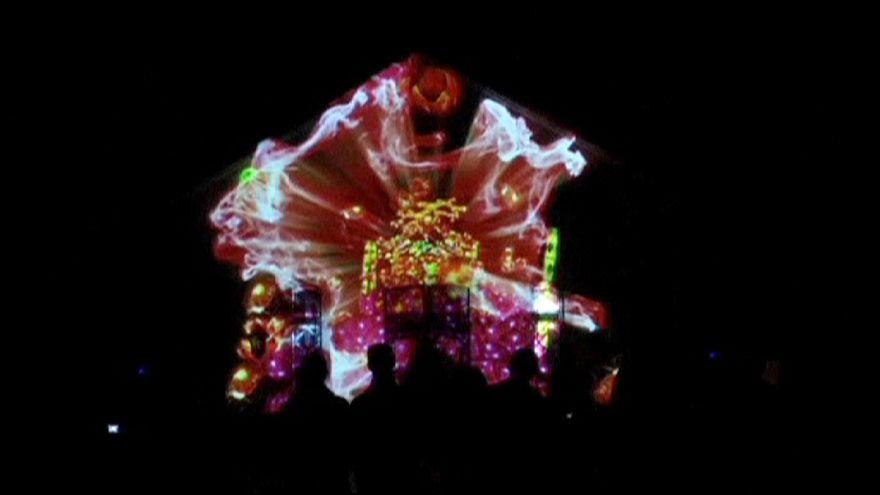 Portekiz'de Lumina Işık Festivali