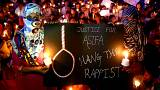 Image: People protest for Rape victim in Bangalore