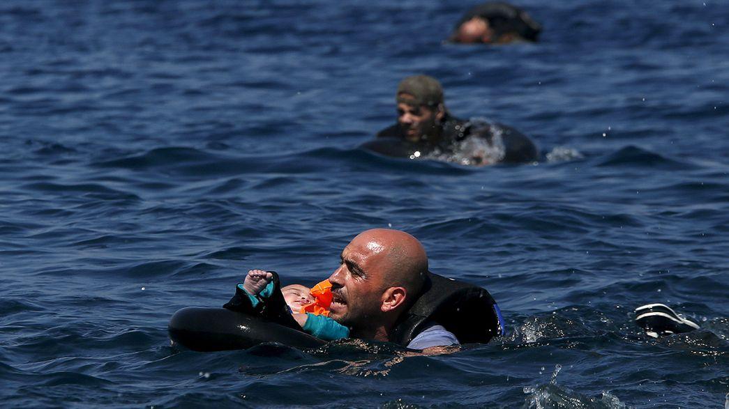 Grecia: cerca de 30 refugiados muertos en un nuevo naufragio