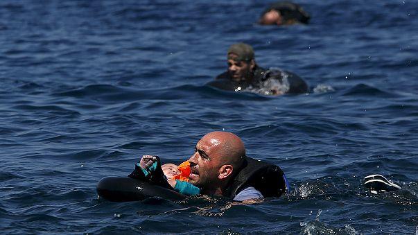 Трагедия с мигрантами у берегов Греции