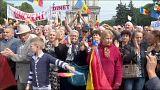 تظاهرات في مولدوفا للمطالبة بالتحقيق حول اختفاء 1.5 مليار دولار
