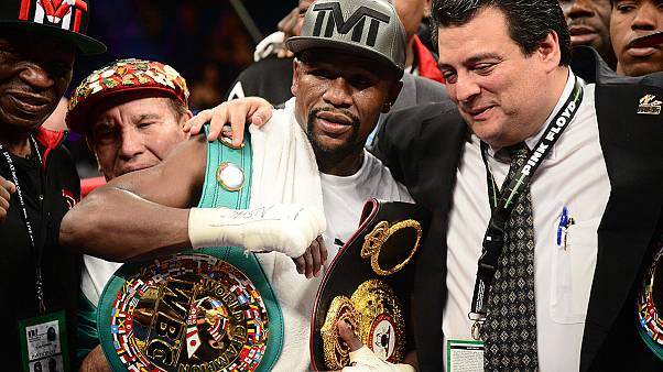 Mayweather bows out of boxing equaling Marciano's legendary record