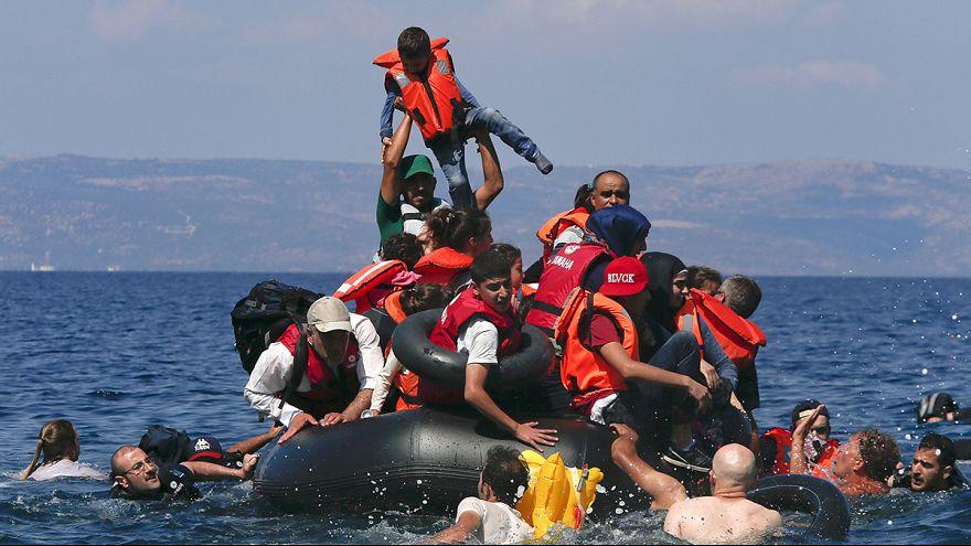 Flüchtlingsboot in der Ägäis gekentert - mindestens 34 Menschen ertrunken