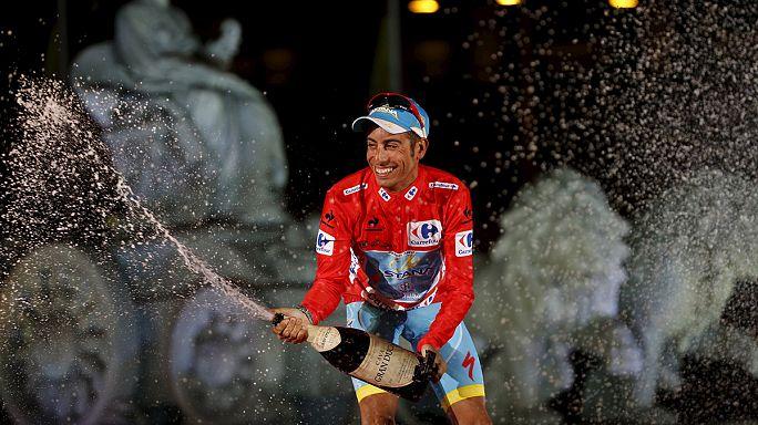 Fabio Aru gagne le Tour d'Espagne