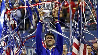 Djokovic logra su segundo Abierto de EEUU tras vencer a Federer