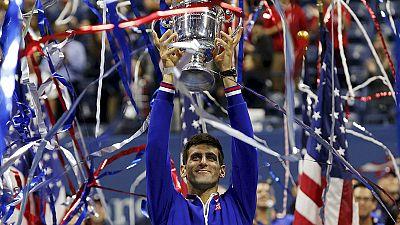 Tennis, Djokovic batte Federer nella finale degli US Open