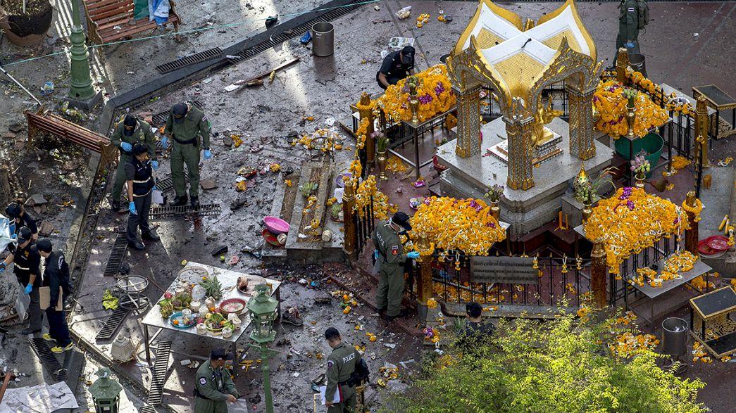 La policía malasia detiene a tres sospechosos que podrían haber participado en el atentado de Bangkok