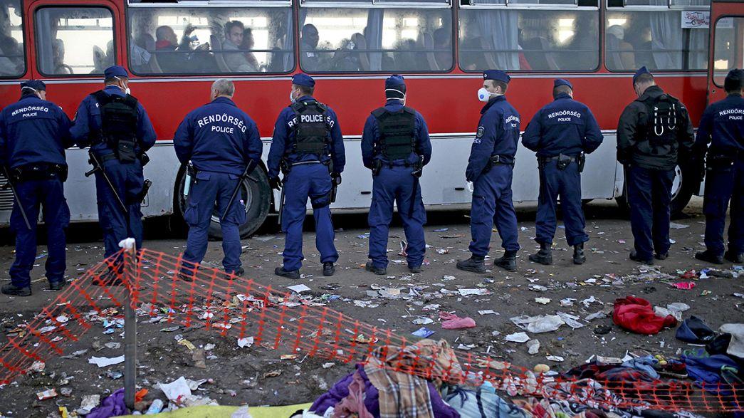Macaristan'daki göçmenler zamanla yarışıyor