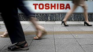 Toshiba hit by record fine over scandal as sales slump