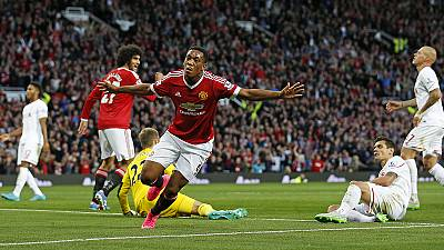 Martial scores on dream debut for Man Utd