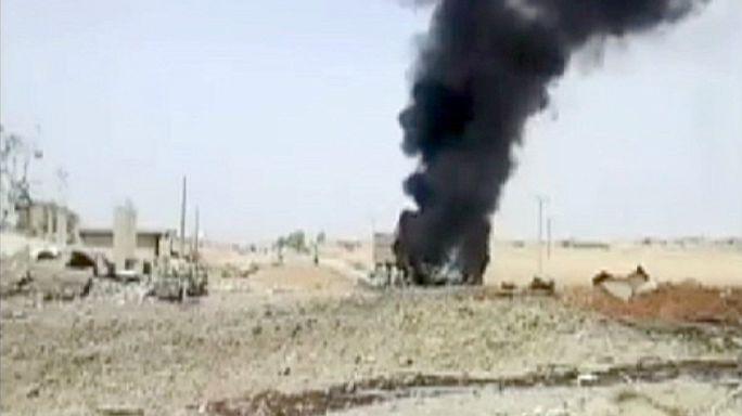 Suriye'nin Haseki kenti bombalı saldırılarla sarsıldı