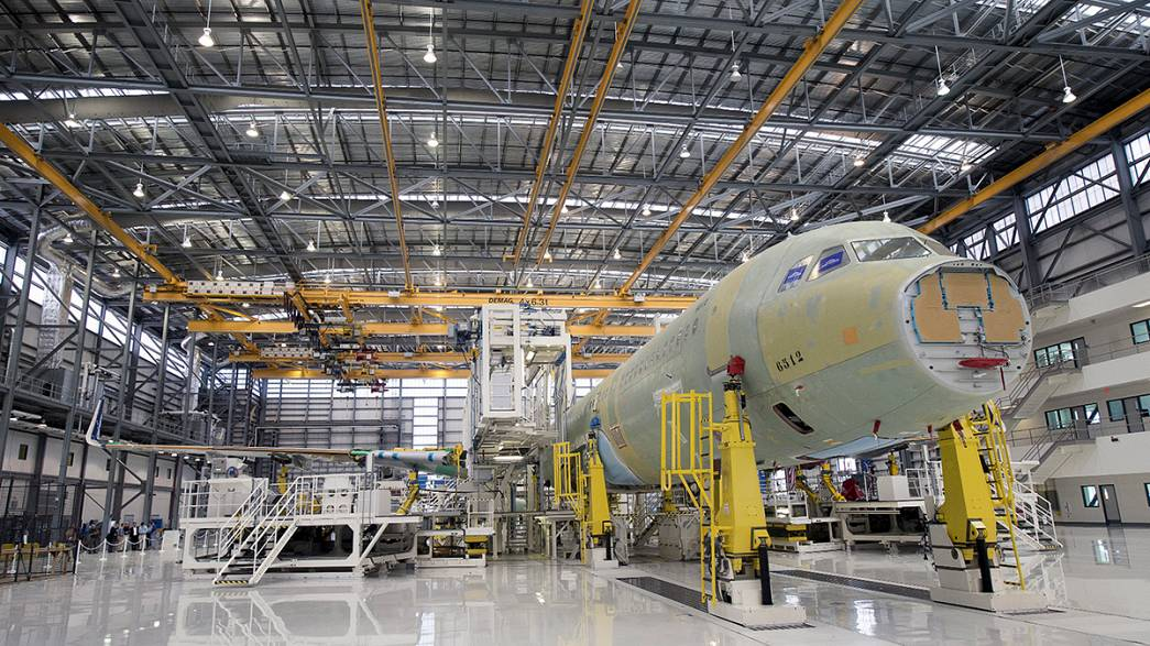 Airbus inaugura su primera factoría 'made in USA' en Alabama