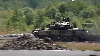 Rússia posiciona tanques em base síria