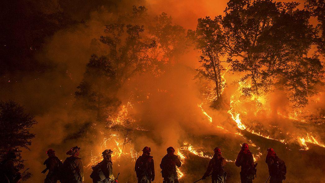 Kaliforniya eyaleti yangın yeri