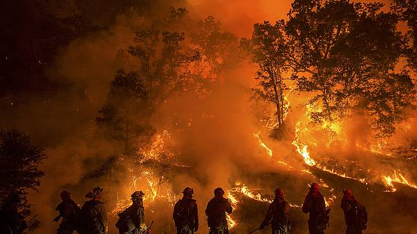 Evacuations continue in fire-ravaged California with no end to inferno in sight