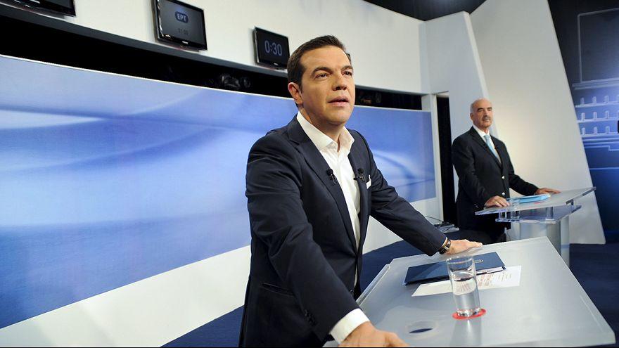 Erstes und einziges Fernsehduell vor der Wahl in Griechenland