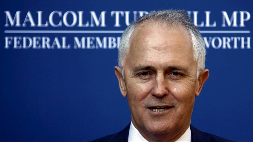 Turnbull sworn in as new Australian prime minister